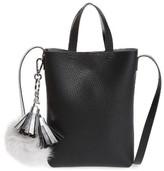 Street Level Bp. Mini Pouch Faux Leather Phone Crossbody Bag - Black