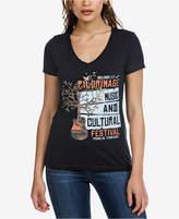 William Rast Melange Graphic T-Shirt