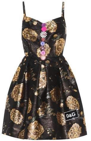 Dolce & Gabbana Sleeveless jacquard dress