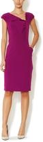Ava & Aiden Women's Asymmetrical Sheath Dress