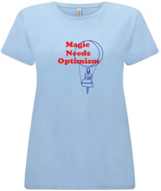 The House of LEAF - Magic Print Tee - Magic Tee / Small / Blue