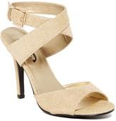 J. Renee Rovera Metallic Sandal