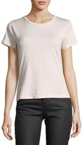 J Brand 811 Crewneck Short-Sleeve Cotton Tee