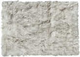 One Kings Lane 2'x3' Hudson Faux Sheepskin Rug, Gray