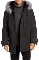Andrew Marc Men's Everest Genuine Fur Trim Parka