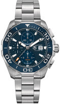 TAG Heuer Men's Swiss Automatic Chronograph Aquaracer Calibre 16 Stainless Steel Bracelet Watch 43mm CAY211B.BA0927