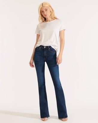 Veronica Beard Beverly High-Rise Skinny Flare Jean
