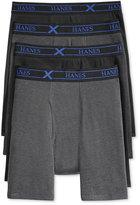 Hanes Men's 4-Pack X-Temp Boxer Briefs