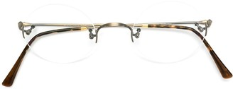 Lunor Round Frame Glasses
