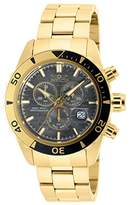 Invicta Men's 20187SYB Pro Diver Analog Display Quartz Gold-Tone Watch