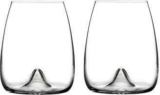 Waterford Elegance Stemless Wine Glasses - Set of 2