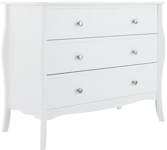 Baroque 3 Drawer Chest
