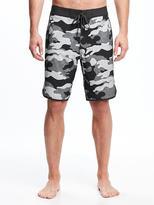 "Old Navy Built-In Flex Camo Board Shorts for Men (10"")"