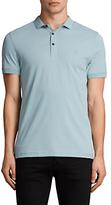 Allsaints Allsaints Slim Fit Alter Polo Shirt, Nordic Blue