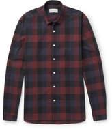 Oliver Spencer - Clerkenwell Checked Cotton-poplin Shirt