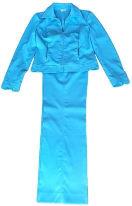 Philosophy di Alberta Ferretti Turquoise Cotton Jacket for Women Vintage
