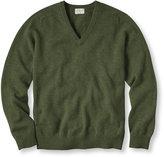 L.L. Bean Bean's Lambswool V-Neck Sweater