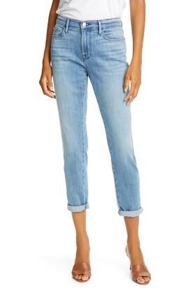 Frame Le Garcon Double Needle Ankle Boyfriend Jeans