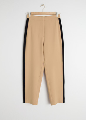 And other stories Racer Stripe Riding Trousers