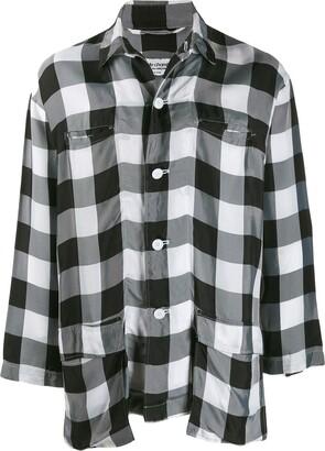 Comme Des Garçons Pre Owned Lightweight Checked Shirt