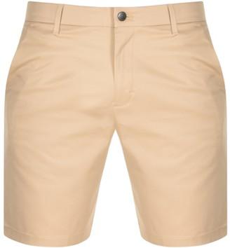 Calvin Klein Jeans Slim Fit Chino Shorts Beige