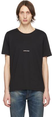 Saint Laurent Black Logo T-Shirt