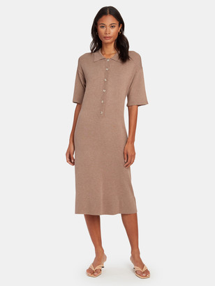 Norr Chelsea Knit Midi Dress