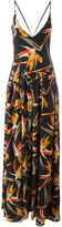 Fendi Bird of Paradise flower print dress