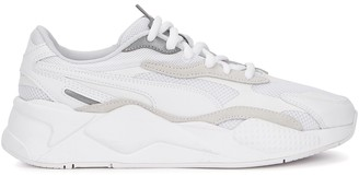 Puma RS-X Puzzle White Mesh Sneakers