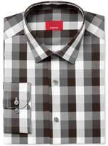 Alfani Men's Slim-Fit Stretch Triple Block Gingham Dress Shirt, Created for Macy's