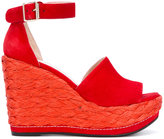 Stuart Weitzman Soho wedge sandals - women - Leather/Suede/rubber - 35