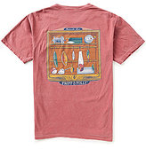 Fripp & Folly Men's Freshwater Lures Short-Sleeve Graphic Pocket Tee