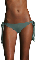 Mikoh Puerto Rico Long Skinny Woven Tie Side Bikini Bottom