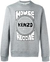 Kenzo House Reggae print sweatshirt - men - Cotton/Polyester/Spandex/Elastane - L