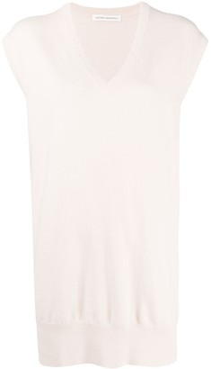 Extreme Cashmere Sleeveless Knit Top