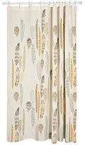 Danica Studio Quill Feather Shower Curtain