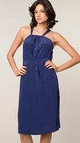 Twelfth Street Blue Gathered Dress