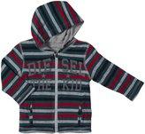 Diesel Tokrab Zip Hoodie (Baby) - Gray-12 Months