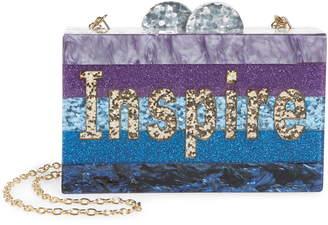 Bari Lynn Inspire Box Shoulder Bag