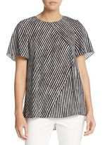Vince Camuto Graphic-Print Top