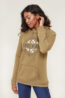 Ardene Fleece Lined Graphic Hoodie