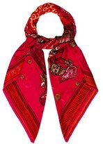 Hermes Beloved India Cashmere Shawl w/ Tags