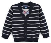 Andy & Evan Baby's Two-Piece Stripe Sweater and Knitted Bottom Cotton Set
