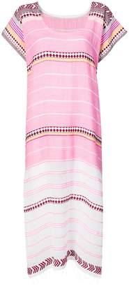 Lemlem Luchia striped-jacquard dress