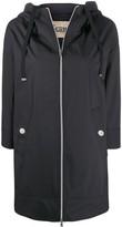 Herno rubberised hooded coat