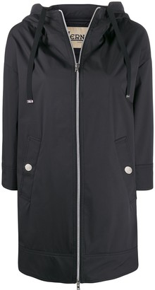 Herno Rubberised Hooded Coat