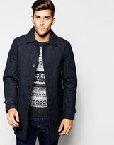 Esprit Dogtooth Wool Trench Coat