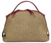 Borbonese Women's Brown Polyurethane Handbag.