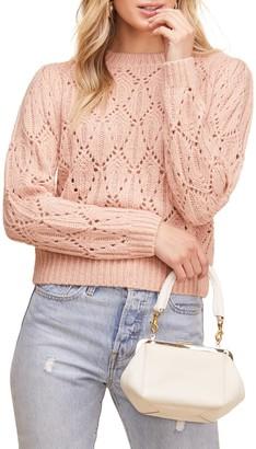 ASTR the Label Dee Dee Crop Sweater