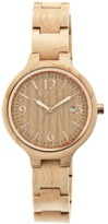 Earth Wood Nodal Bracelet Watch.